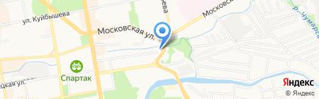 3599 Seconds на карте Тамбова
