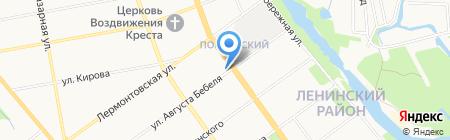 Стиль на карте Тамбова