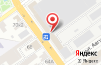 Схема проезда до компании Редакция «Полис-Плюс» в Тамбове