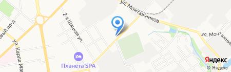 Сириус-Т на карте Тамбова