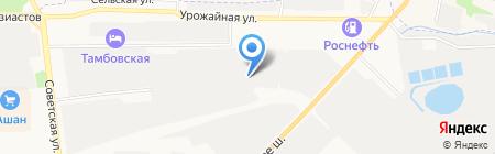 Центр временного пребывания иностранных граждан на карте Тамбова