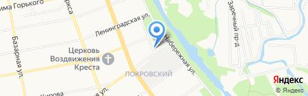 Прокуратура Тамбовской области на карте Тамбова