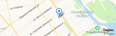 Управление ФСБ России по Тамбовской области на карте Тамбова