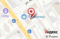 Схема проезда до компании Почта банк в Белгороде
