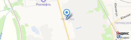 Орфей на карте Тамбова