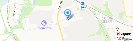 Продуктовый магазин на ул. Дмитрия Карбышева на карте Тамбова