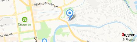 Шиномонтажная мастерская на ул. Бориса Васильева на карте Тамбова