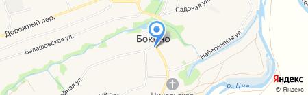 Продовольственный магазин на Советской на карте Бокино