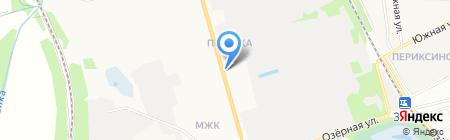 Малибу на карте Тамбова