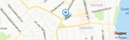 Дачник на карте Тамбова