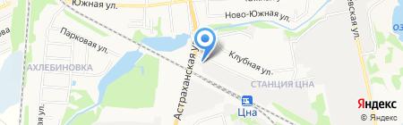 ТрансКонтейнер на карте Тамбова