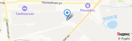 ТамбовТехСнаб на карте Тамбова