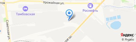 Автомиг на карте Тамбова
