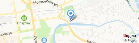 Км\/ч 68 на карте Тамбова