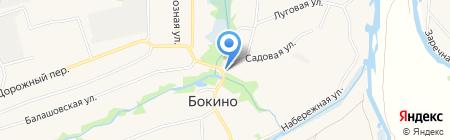 Заря на карте Бокино