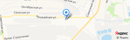 АГЗС Газпром на карте Тамбова