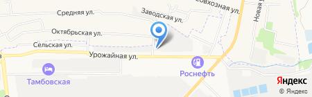 АШ-АВТО на карте Тамбова