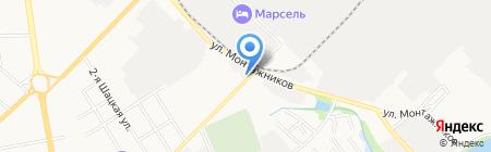 Сантехкомплект на карте Тамбова
