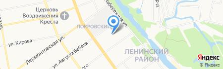 КПРФ на карте Тамбова