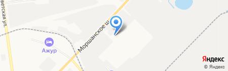 Баня VIP на карте Тамбова