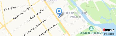 Газпромбанк на карте Тамбова