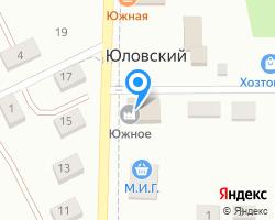 Схема местоположения почтового отделения 347601