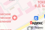 Схема проезда до компании Тамбовская областная клиническая больница им. В.Д. Бабенко в Тамбове