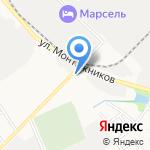 Ходовка+ на карте Тамбова