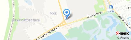 АЗС Калина Ойл на карте Тамбова