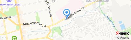 Тамбовский областной медицинский колледж на карте Тамбова