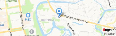СтройБрат на карте Тамбова