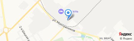 Тамбовский экологический комбинат на карте Тамбова