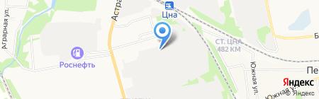 Тамбовский гарнизонный военный суд на карте Тамбова