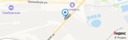 Тамбовмебель на карте Тамбова