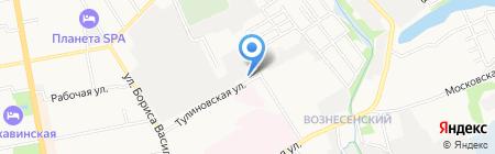 Банкомат Банк ВТБ 24 на карте Тамбова