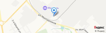 Вираж-Авто на карте Тамбова