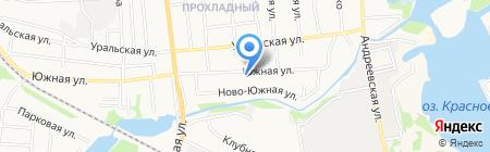 Библиотека №11 им. В.В. Маяковского на карте Тамбова