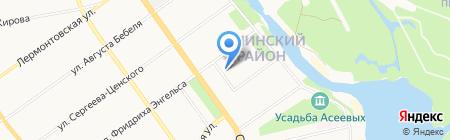 Детский сад №18 Ручеёк на карте Тамбова