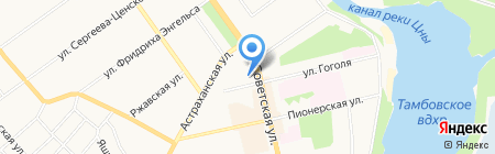 ИФНС на карте Тамбова