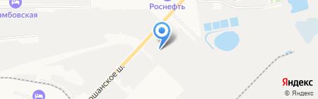 АТЦ Тамбов на карте Тамбова