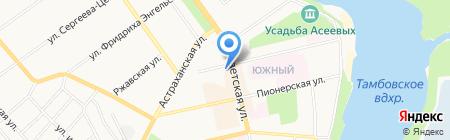Белль Фам на карте Тамбова