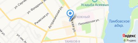 ИТАР-ТАСС на карте Тамбова