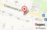 Схема проезда до компании Омега в Красненькой