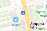 Схема проезда до компании Русский Аппетит в Тамбове