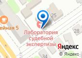 Тамбовская лаборатория судебной экспертизы Министерства Юстиции РФ на карте
