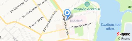 Софья на карте Тамбова