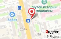 Схема проезда до компании Микрозайм в Белово