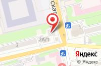 Схема проезда до компании Qiwi в Новопушкинском