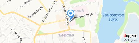 Виола на карте Тамбова