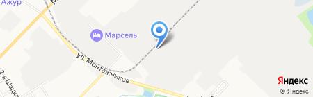 Автодор-Тамбов на карте Тамбова